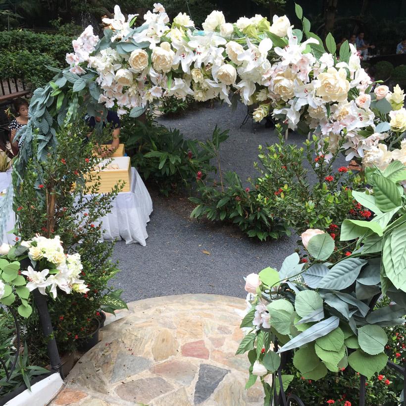Wedding Tierra Flower